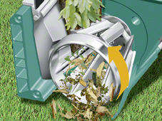 Bosch AXT 25 TC Quiet Garden shredder