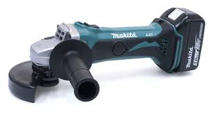 Makita 18V Cordless Angle Grinder Dga452Zk 115Mm - Power Tool Services