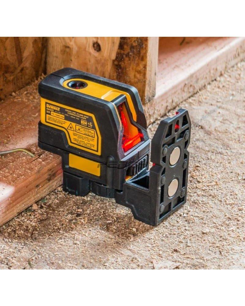 Dewalt Self Levelling Cross Line And Plumb Spots - Power Tool Services