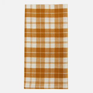 harbor plaid napkins, goldenrod