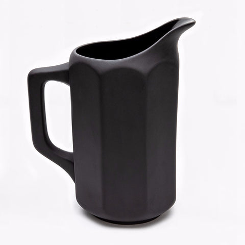 still life pitcher no. 2, matte black