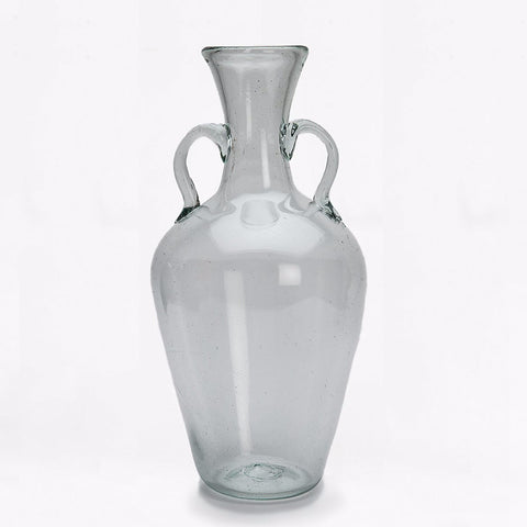 La Soufflerie glass decanter with handles