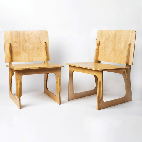 plywood interlock chair