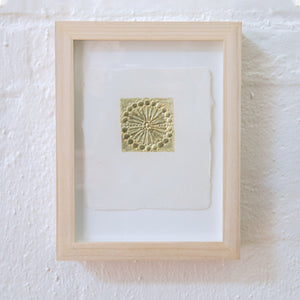 Carol Leskanic 16kt gold leaf on handmade Japanese paper