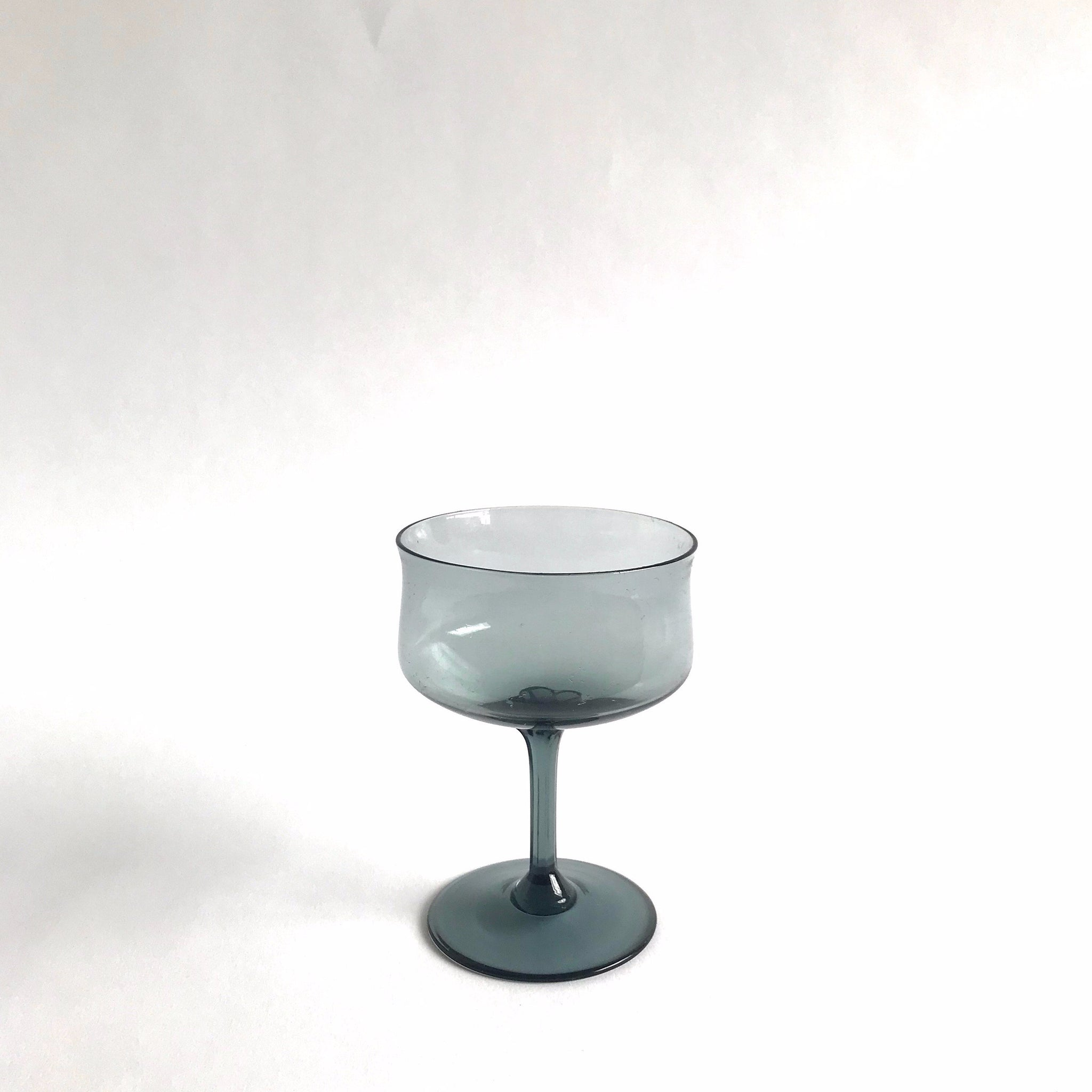 vintage champagne coupe, set of 6