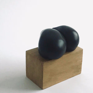 "Carol Leskanic ""hand held"" sculpture no. 2"