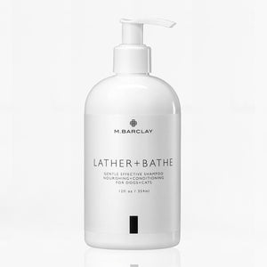 lather + bathe shampoo