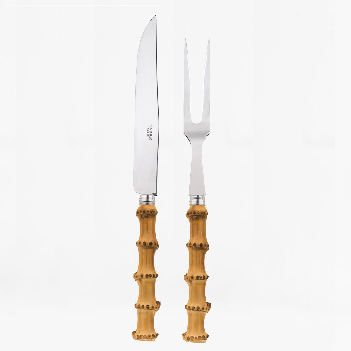 bamboo 2 piece carving set