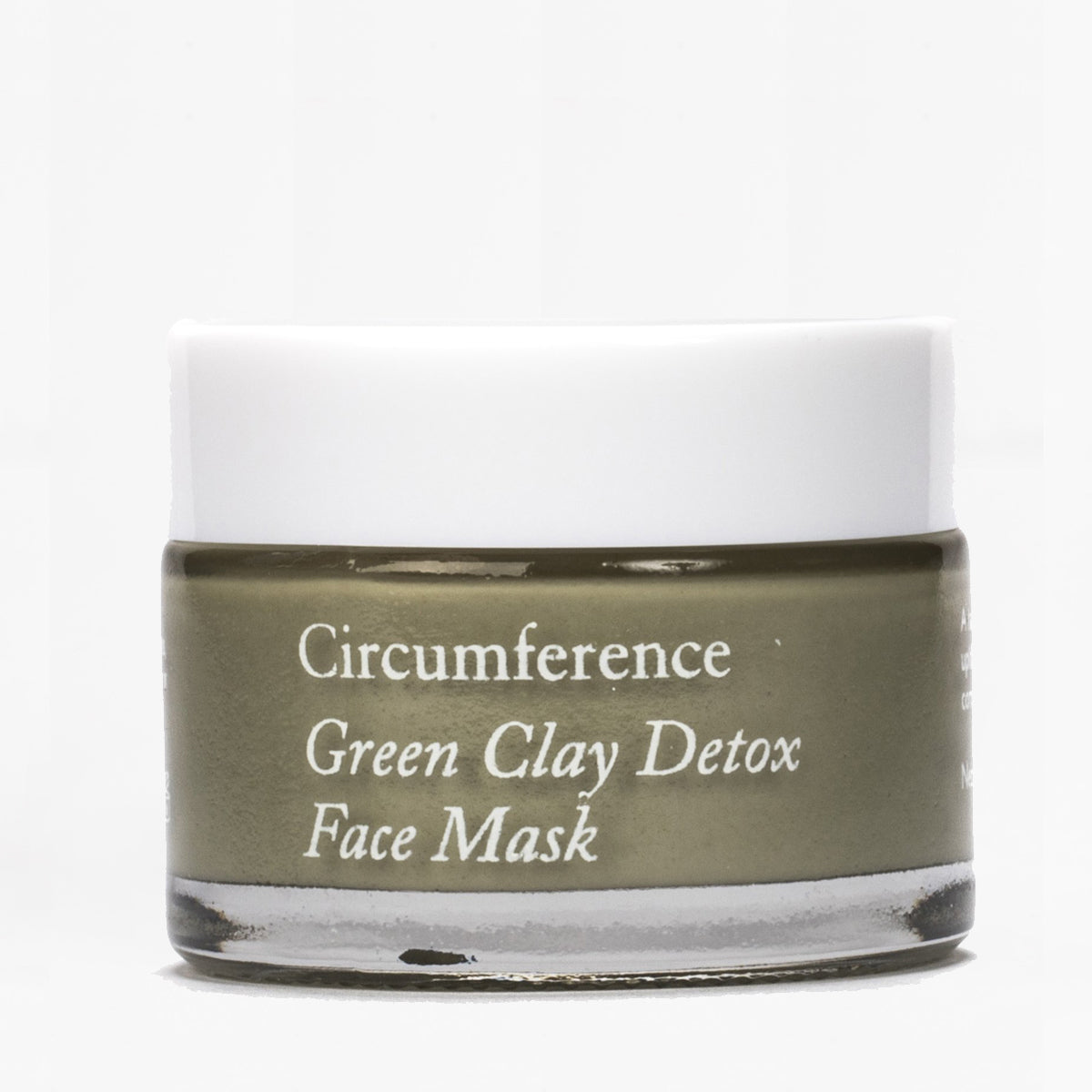 Circumference green clay detox face mask