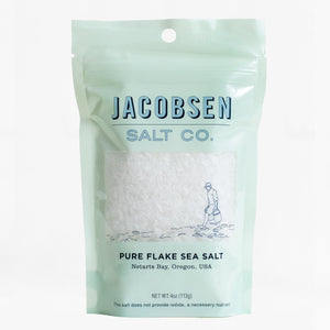 Jacobsen's flake finishing salt