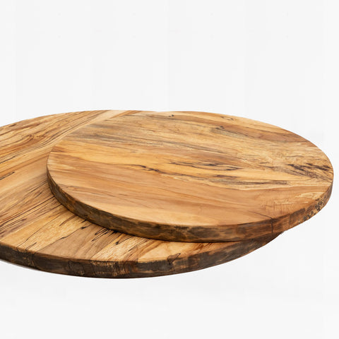 spalted maple wood round board
