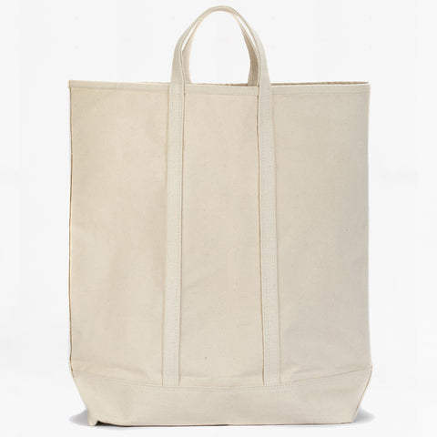 very tall canvas tote
