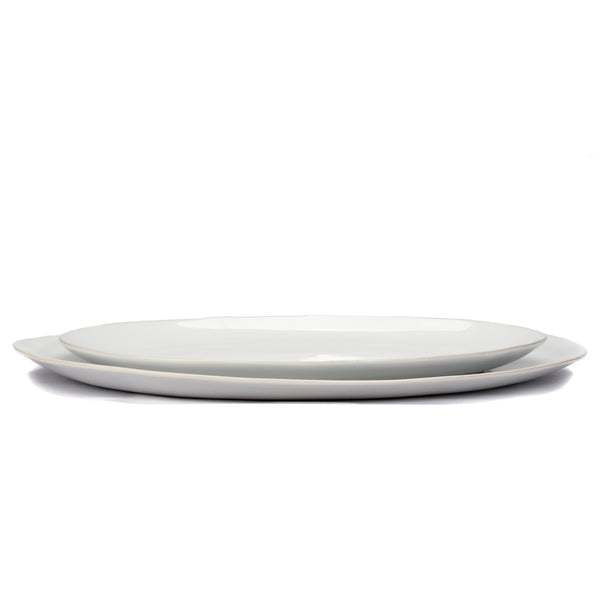 organic oval serving platters