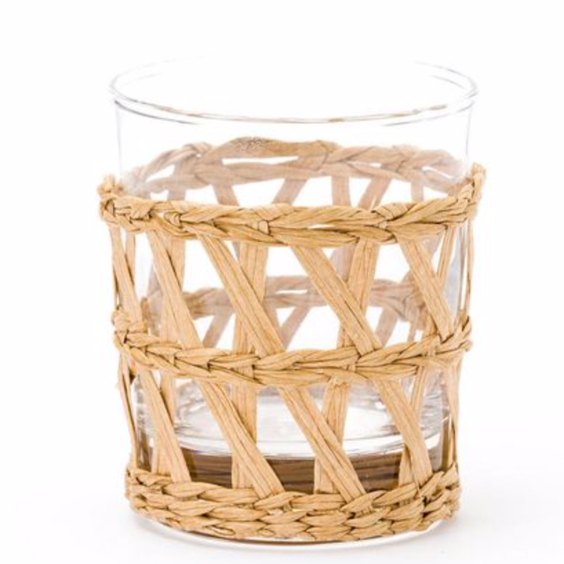 woven wrapped tumbler