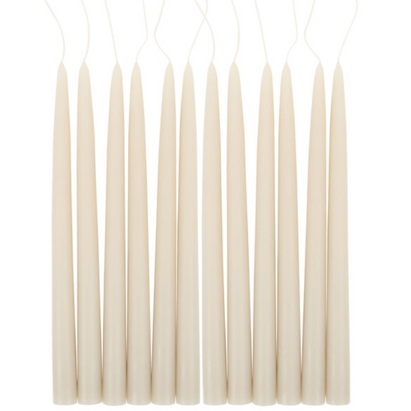 taper candles, 12""