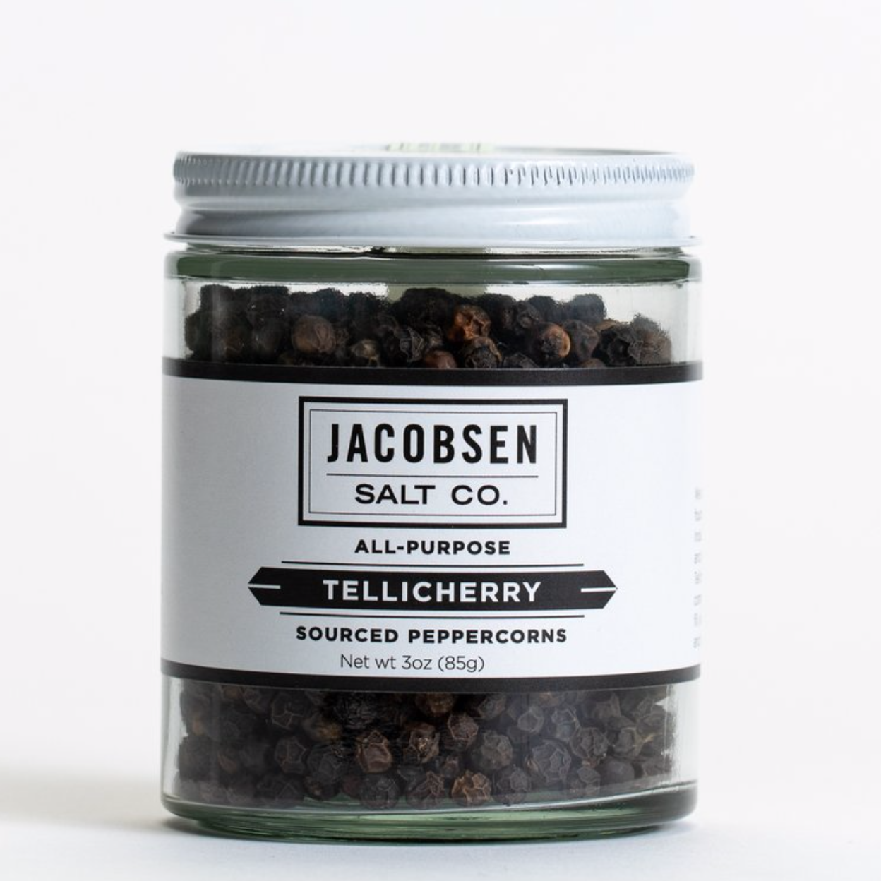 Jacobsen's whole Tellicherry peppercorn