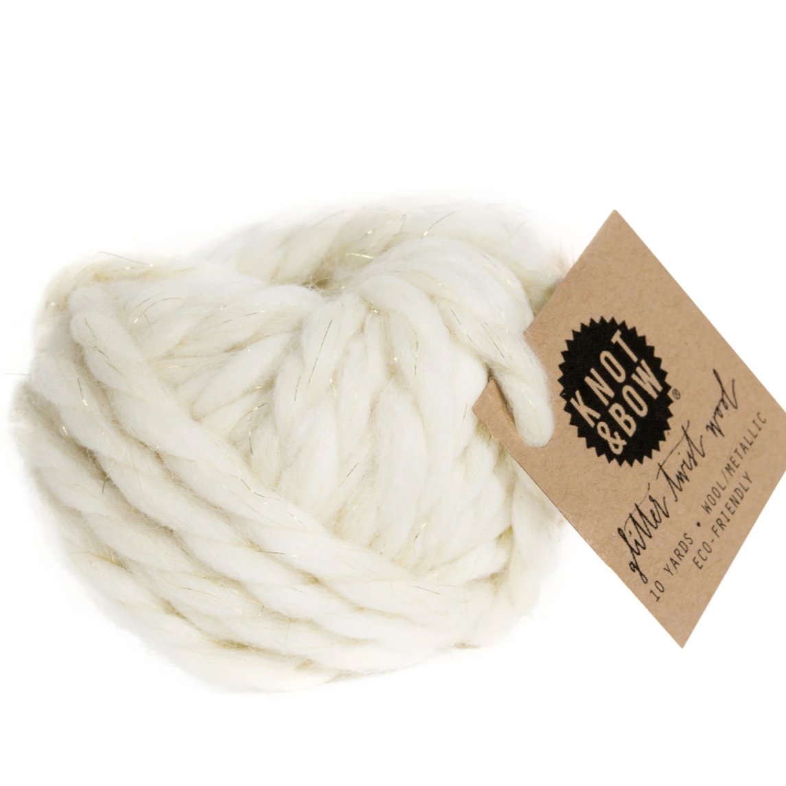 twisted wool ball