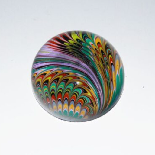 marbled paper paper weight