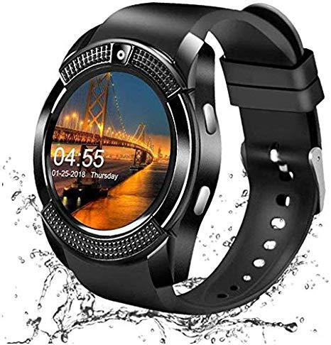 Smartwatch with Camera SIM Card Slot & Pedometer - lallntop.com