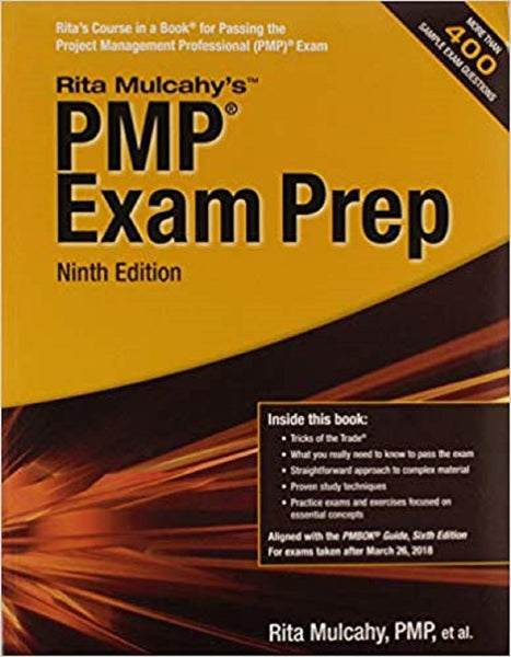 PMP Exam  9th edition  Buy Project Management Professional Pmp Certification Exam Prep book
