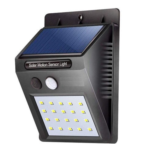 Solar Wireless Security Motion Sensor LED Night Light