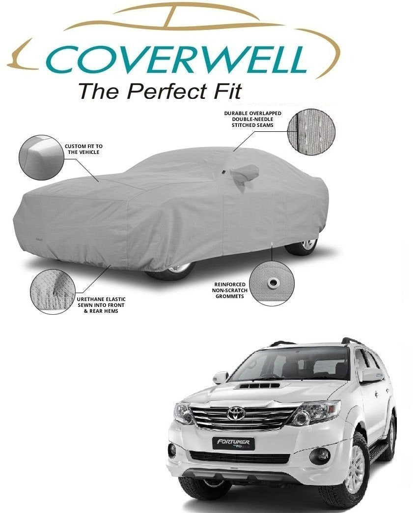 Toyota Fortuner  tailor stitched car body covers
