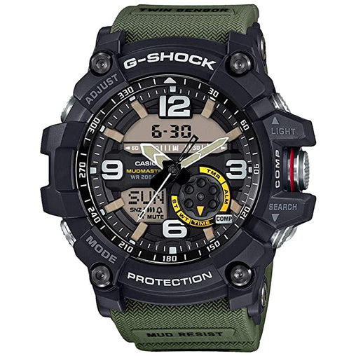 Casio G-Shock Analog-Digital Black Dial Men's Watch GG-1000-1A3DR