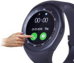 smart Watch with Camera and Sim Card Support Y1C34 - lallntop.com