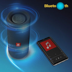 JBL Flip 4 Portable Wireless Speaker with Powerful Bass & Mic Refurbished - lallntop.com