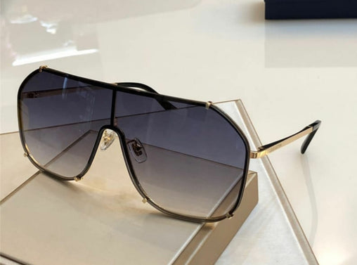 Branded Prada aviator  sunglasses