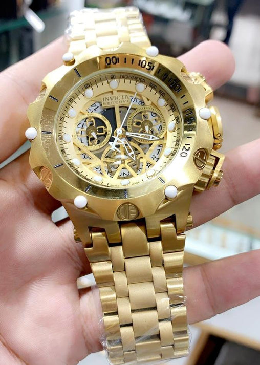 Invicta venom full gold refurbished