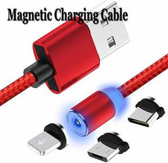 Fast charging Magnetic 3 IN 1 Data Cable - lallntop.com