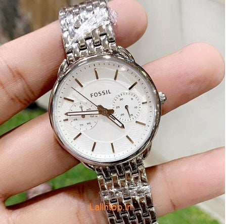 Fossil  Silver watch Women's