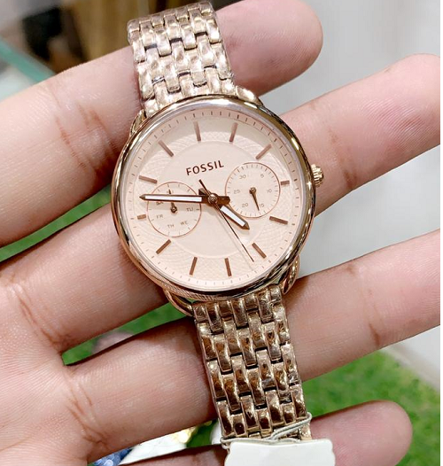 Fossil Rose gold watch Women's