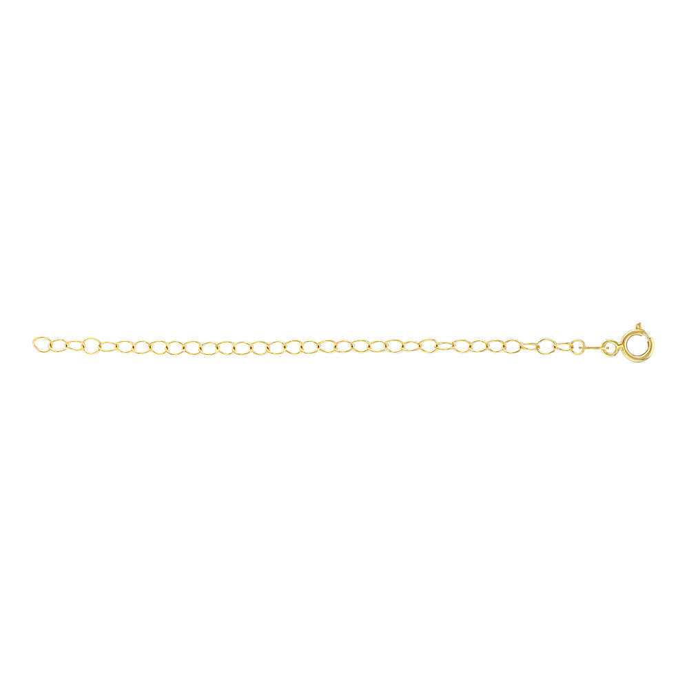 Gold Plated Chain Extender - 2""