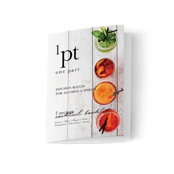 Teroforma 1pt Variety Pack of Infusion Blends for Alcohol & Spirits