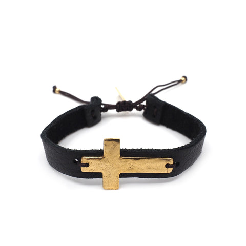 The Stetson Cross Bracelet