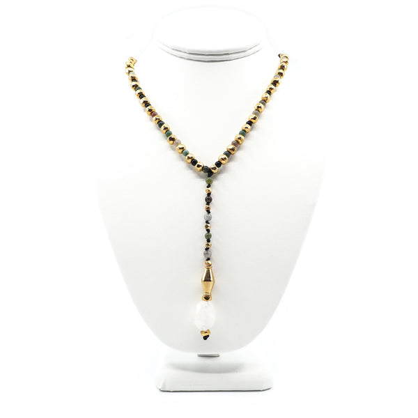 The Victoria Necklace in Crystal Beads