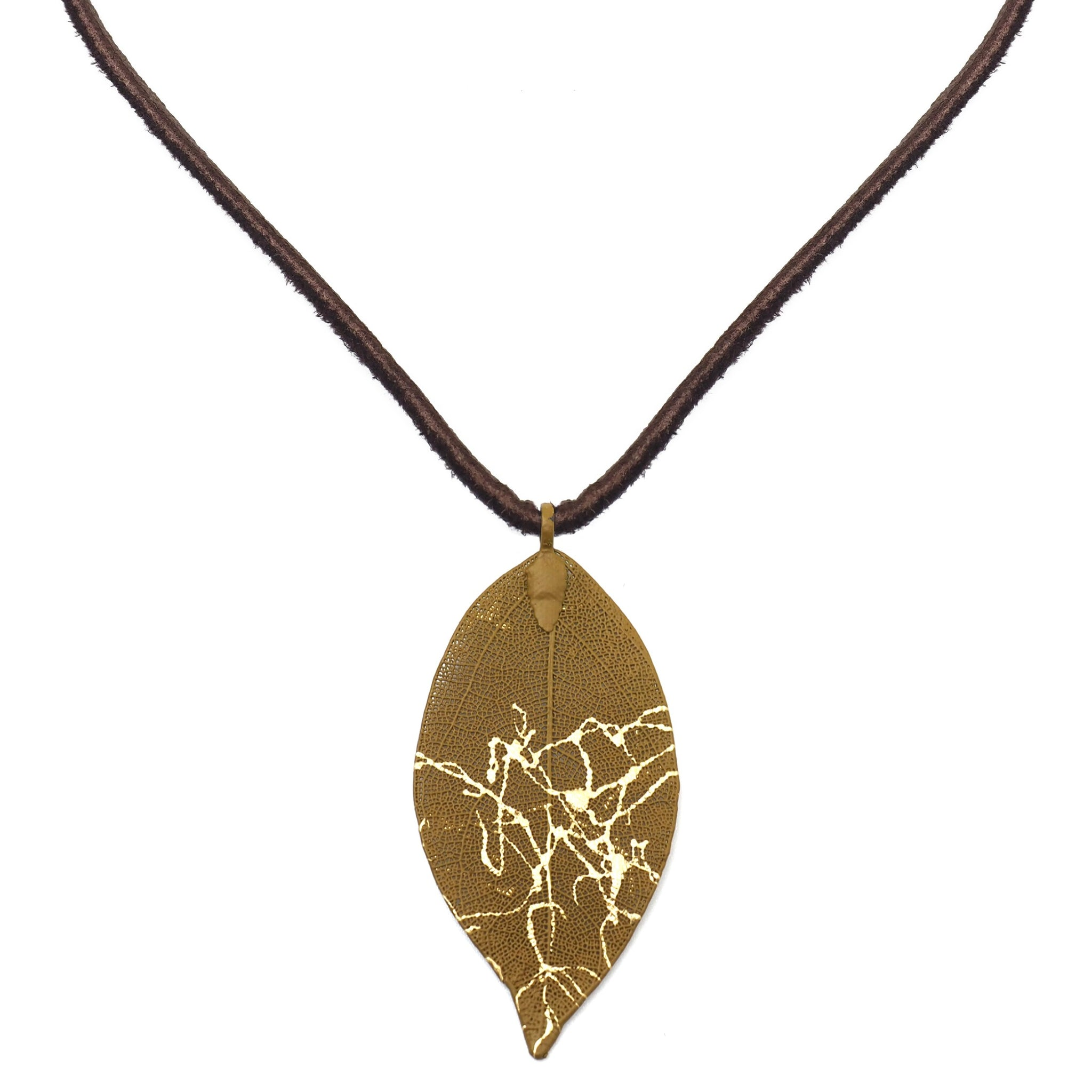 The Victoria Leaf Necklace