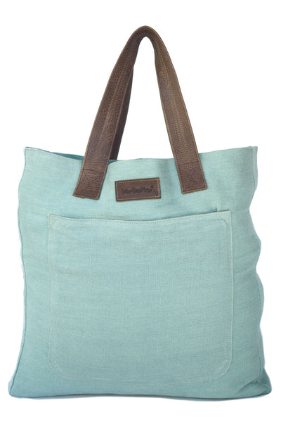 St. Barth's Tote in Mint