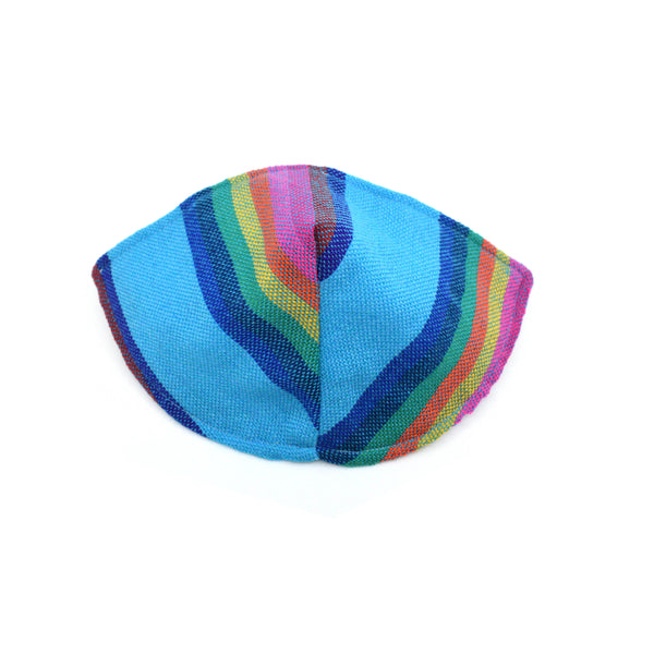 Face Mask - Blue with Stripes