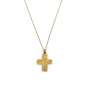 Walk in Faith Cross Necklace