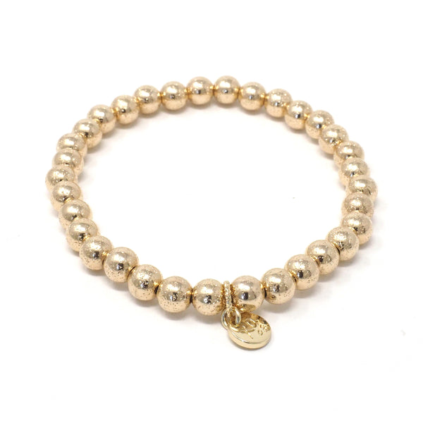 The Eternity Bracelet in Gold Shimmer