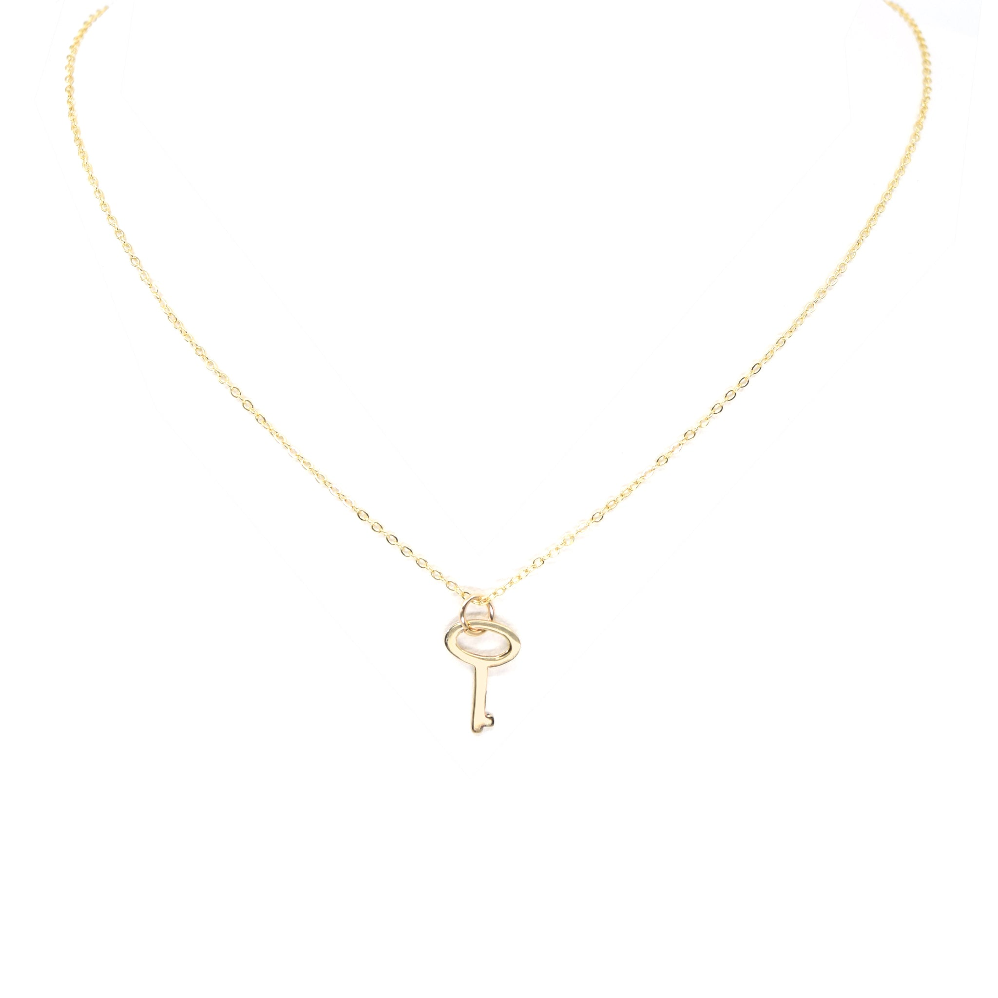 Flat Key Necklace