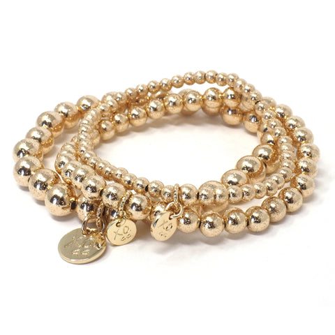 The Eternity Bracelet in Gold