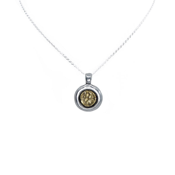 Juno Mini Coin Necklace