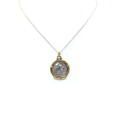 Aureus Coin Necklace