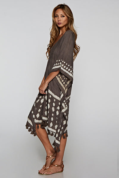 Taupe Pullover Dress