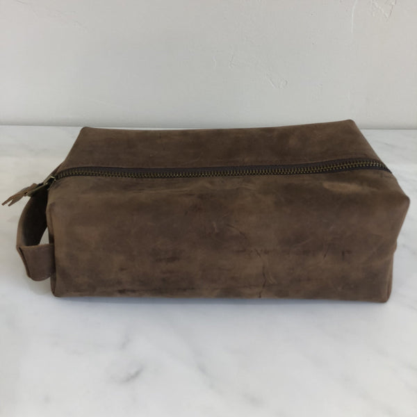 Leather Dopp Kit