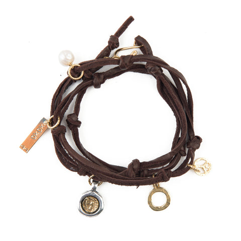 It's a Wrap Convertible Charm Bracelet & Necklace